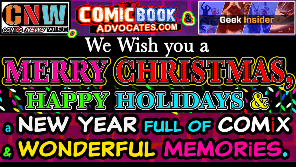 Geek insider, geekinsider, geekinsider. Com,, week ended with a merry x-mas to all, and may fandom be rewarded this holiday season- 12. 19-25. 20, entertainment, news